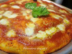 Ammodomio: Pizza in teglia veloce veloce