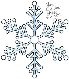 Each snowflake is different, that explains why we are already on our snowflakes drawing tutorial. Below, we will show you how to draw this snowflake with simple to understand instructions. Christmas Drawing, Christmas Love, Christmas Crafts, Love Drawings, Easy Drawings, Xmas Gifts For Mum, Drawing For Beginners, Drawing Tutorials, Paper Snowflakes