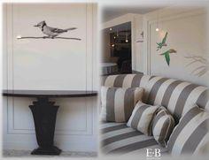 Wall Decor - Graphic Design Arch. Elena Busato Interior Design La Veranda Restaurant Bucharest