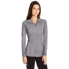 Ibex Merino Wool Women's Woolies 2 Zip Neck Shirt >>> You can get additional details at the image link. (This is an affiliate link and I receive a commission for the sales) #BaseLayers