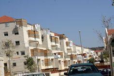 Sukkot in Israel  ~  A Sukkah on every mirpeset (balcony)