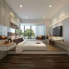 Modern And Luxurious Bedroom Interior Design Is Inspiring for size 1000 X 986 Luxury Bedrooms Interior Design - Besides your home, interior bedroom design Modern Luxury Bedroom, Luxury Bedroom Design, Master Bedroom Interior, Modern Bedroom Furniture, Luxury Home Decor, Luxury Interior Design, Contemporary Bedroom, Luxurious Bedrooms, Luxury Bedrooms