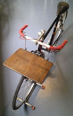 Porteur de pain #bread #bike #rack