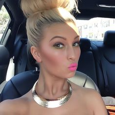 I've been doing a top knot like this using Hairdo Beach Curl Pony for length & Unite Beach Day for texture. Love it #beauty