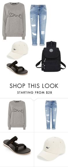 """L❤️VE & STUFF"" by libbyrose15 on Polyvore featuring Sugarhill Boutique, Miss Selfridge, Teva and Vineyard Vines"