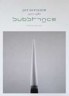 "stoneponi: ""Fact 250 : Joy Division Substance // Poster // 1988 """
