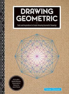 Introducing Drawing Geometric Tools and Inspirations to Create Amazing Geometric Drawings  Includes Sketchbook Geometric Stencils and More. Buy Your Books Here and follow us for more updates!