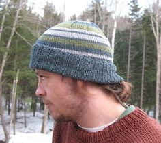 Hemp Beanie - Give your man the gift of a knit hat and he'll think of you every time he puts it on. This collection of knit hat patterns includes several options for the special guy in your life, whether he's more of a straight-laced fellow or a laidback dude
