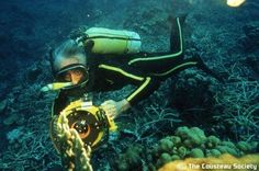 The late, great JACQUES COUSTEAU