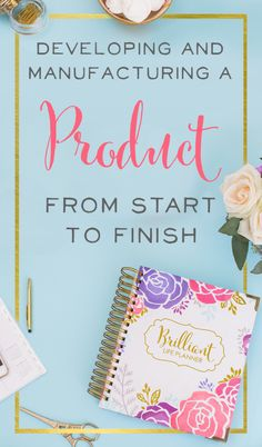 This solo episode was recorded because I've gotten so many questions from you brilliant business ladies about how I designed my planner. How do I import a product from overseas? How do I find a manufacturer? How does one scrappy business mama come up with a product idea and make it happen? I'll give you all those answers. Let's dive in!