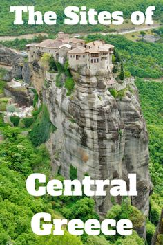 Travel the World: From Delphi to Meteora, Central Greece offers travelers a mix of things to do and see. #Greece #travel