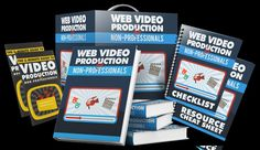 Ebook PDF Web Video Production  + PLR + Quick send