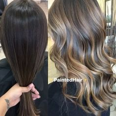 """7,841 Likes, 131 Comments - Patricia Nikole (@paintedhair) on Instagram: """"✨❤BEFORE AND AFTER STORY: My client came to me twice prior to this appointment. Both times I low…"""""""