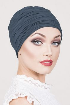 00bdb897690695 Ravello - Steel Blue Navy Hair, Hats For Cancer Patients, Sorrento, Ankle  Straps
