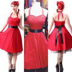 Such a classic swing style <3 #blamebetty #polkadot #swingdress