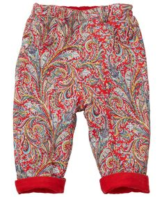 Red Reversible Corduroy Trousers, Liberty London Children's. Shop more trousers from the latest Liberty London Children's collection online at Liberty.co.uk