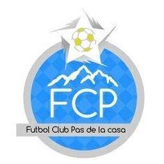 FC Pas de la Casa (Encamp, Andorra) #FCPasdelaCasa #Encamp #Andorra (L16163) Andorra, Company Logo, Football, Logos, Holiday Decor, Soccer, The World, Football Equipment, Houses