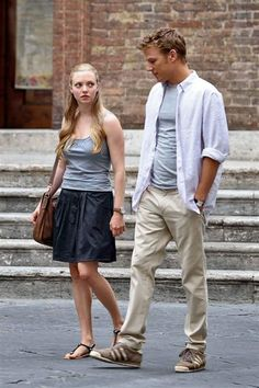christopher egan and Amanda... Letters to Juliet