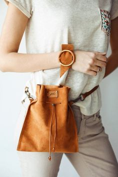 Brown Leather Fanny Pack Leather Bag for Students Leather Waist Bag for Women Waist Bag Outfits Bag Brown Fanny Leather Pack Students Waist women Leather Fanny Pack, Leather Bag, Brown Leather, Brown Bags, Cloth Bags, Purses And Bags, Shoulder Bag, Handbags, How To Wear