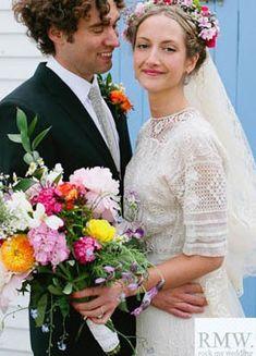 Edwardian crochet lace vintage wedding dress