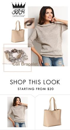 """""""Nude Fall"""" by klhcollection on Polyvore featuring Awama and Old Navy"""