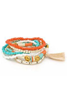Brățară cu șiraguri și ciucure Bracelets, Jewelry, Charm Bracelets, Bijoux, Bracelet, Jewlery, Jewels, Jewelery, Arm Bracelets
