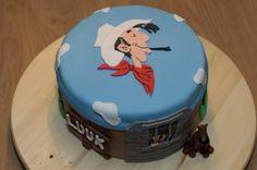 Lucky Luke taart