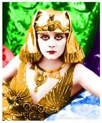 Theda Bara, silent movie actress, one of the earliest sex symbol 1885-1955