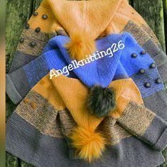 Plaid Scarf, Sweater Cardigan, Girls, Sweaters, Jackets, Fashion, Sweater, Toddler Girls, Down Jackets