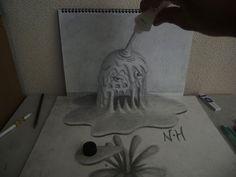 3D Pencil Drawings by Nagai Hideyuki