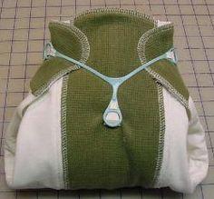 Sewing Prefolds