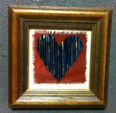 """Homemade With Love"" Hearts Under Construction  By Sheri White Available at requisites gallery In Chesapeake, VA"