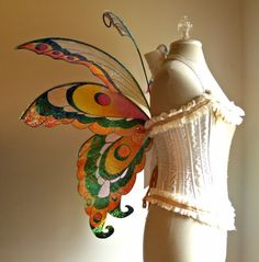 Fairy Wings Wedding Halloween Costume Faerie by WhimsyEverlasting, $265.00