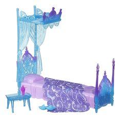 A cama da verdadeira Rainha do Gelo