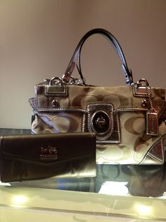 Beautiful Coach Bag and Wallet.  At Ms. Mulligan's Consignment Boutique