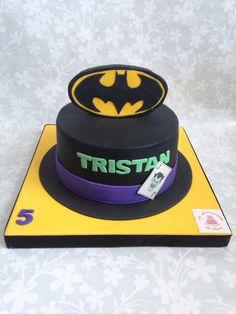 Batman and Joker cake