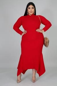 Don't Need Anybody Dress – Plush Dolls Boutique NY Thick Girl Fashion, Curvy Fashion, Plus Size Fashion, Fashion Women, Women's Fashion, Girls Maxi Dresses, Nice Dresses, Fashion Dresses, Fashion Styles