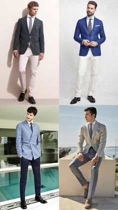 Men's Tailored Separates (Blazer and Trouser) Spring/Summer Wedding Guest Outfit Inspiration