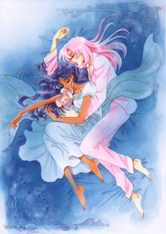 .the tomboy and the rose girl: #utena #revolutionarygirlutena #anthy #rosebride