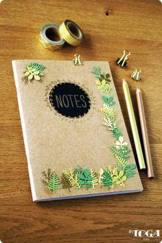 DIY - Comment faire Organisation de Bureau : Mon Carnet de Notes Jungle ? Conseil