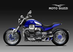 Moto Guzzi Maciste 1400 by Oberdan Bezzi