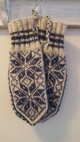 Maja strikker: Selbuvotter i restegarn - Lilly is Love Knitted Mittens Pattern, Knit Mittens, Knitting Socks, Knitting Patterns, Knit Crochet, Gloves, Sewing, Chevron, Blog