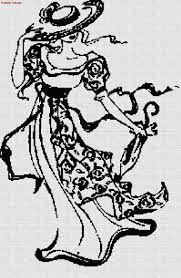Afbeeldingsresultaat voor grille point de croix silhouette de femme