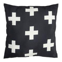 Mode Crosses Cushion 2 Pack Natural 45 x 45 cm | Spotlight New Zealand
