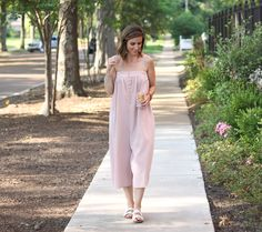 The Blush Jumpsuit Y