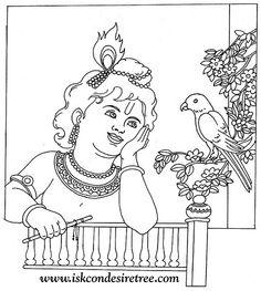 krishna coloring google search