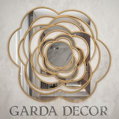 Mirror Garda Decor 3d Mirror, Models, Metal, Glass, Decor, Templates, Drinkware, Corning Glass, Metals