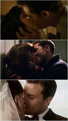 The Kisses 50 Shades Freed, Fifty Shades Darker, Fifty Shades Of Grey, 50 Shades Trilogy, Fifty Shades Series, Christian Grey, Jamie Dornan, It Movie Cast, I Movie