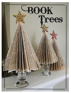 http://creativetryals.blogspot.ca/2011/09/book-tree.html