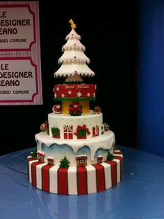 Now that's a Christmas cake!
